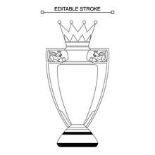 Premier League Trophy, Cup, Ed...