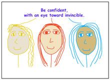 Confident With Eye Toward Invi...