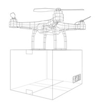 Delivery Drone Concept Outline...