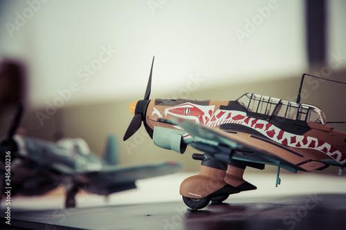 Photo Maqueta de avión antiguo