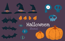 Helloween Vector Stock Illustr...