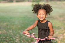 African American Little Girl S...