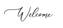 Welcome - Calligraphic Inscrip...