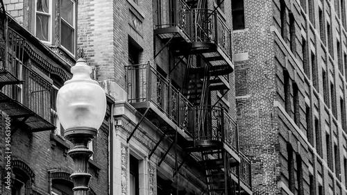 Exterior Of Abandoned House - fototapety na wymiar
