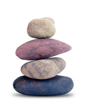 Small Stones That Are Stacked ...