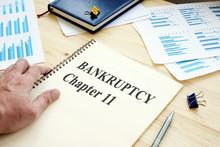 Businessman Reads Bankruptcy C...