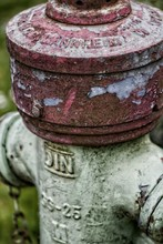 Close-up Of Weathered Fire Hydrant