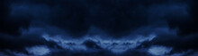 Dark Cloudy Sky Before Thunder...