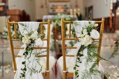Ozdoby weselne Billede på lærred