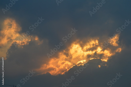 Fototapety, obrazy: Low Angle View Of Storm Clouds In Sky