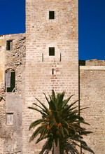 Detail Of Dalt Vila Fortress, ...