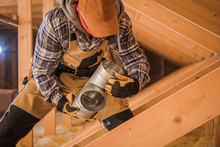 Male Contractor Assembling HVA...