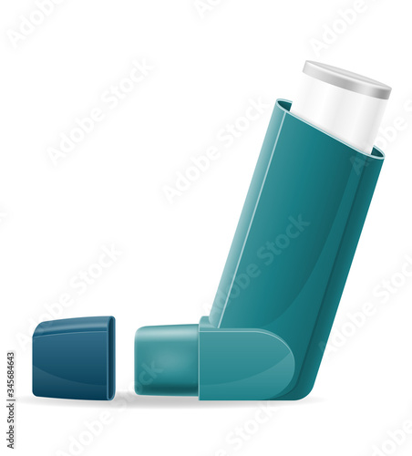 Fotografija medical inhaler for patients with asthma and shortness of breath in the treatmen
