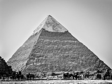 Great Pyramid Of Giza Against ...