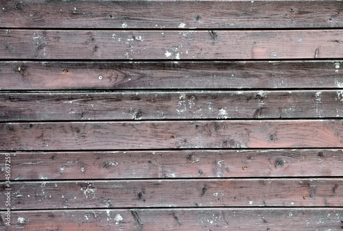 Vintage Wood plank texture for your background Canvas Print