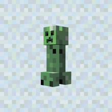 Minecraft Chikibamboni 8-bit Pixel Layout Game Elements, Web, User Interface.