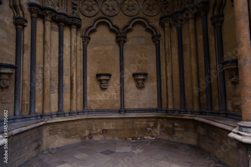 Interior Of Westminster Abbey Wallpaper Mural