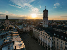 View On Lviv City Hall From Dr...