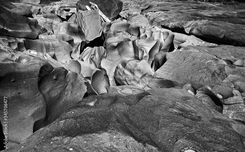 Fényképezés Textura de pedras e rochas na chapada dos veadeiros, nas proximidades do vale da lua