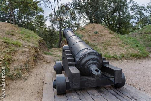 Photo Artillery positions on Malakhov mound