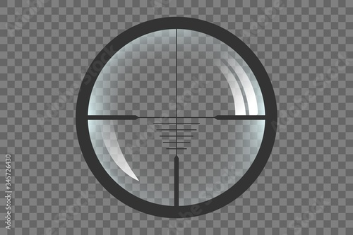 Fotografía Sniper target scope or sight