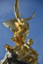 Gilded Winged Victory At The T...