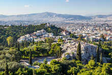 Areopagus Hill And Aerial View...