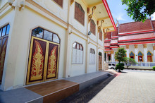 The Temple Complex Of Wat Mongkol Nimit In Phuket.
