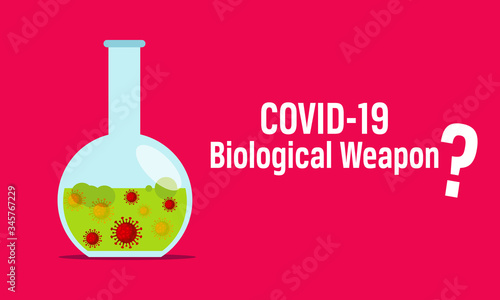 COVID 19  conspiracy theories   Chinese virus or a biological weapon? Wallpaper Mural