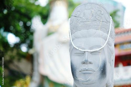 Fotografija Close-up Of White Statue In Repulse Bay