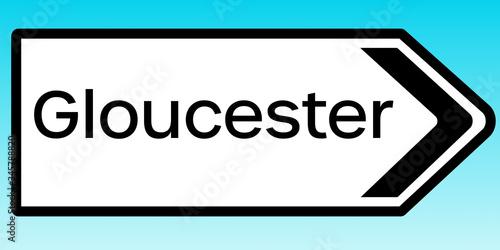 Sign to Gloucester Slika na platnu