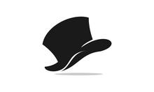 Hat For Cowboy Or Magician Vec...