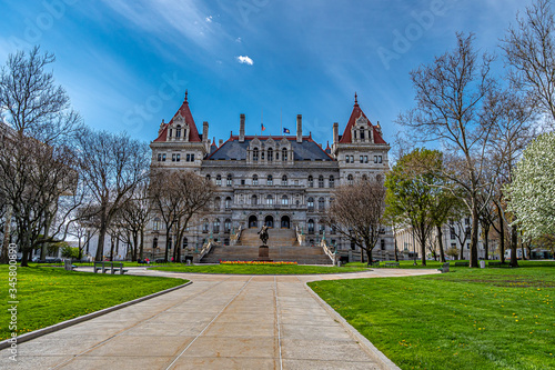 the capitol building in albany ny Fototapeta