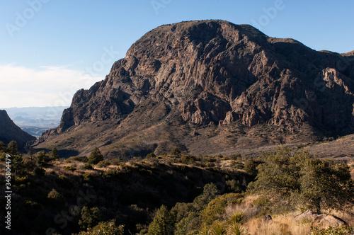 Fotografie, Tablou Vernon Bailey Peak from Chisos Basin;  Big Bend Nat Park;  TX