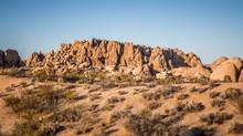 Rocks And Landscapes Of Joshua Tree, Joshua Tree National Park, California