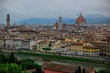 Florence Cathedral With Townscape Against Sky