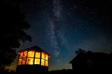 Gazebo And The Milky Way