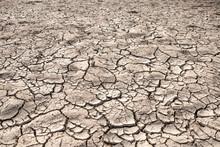 Ground Cracks Drought Crisis E...