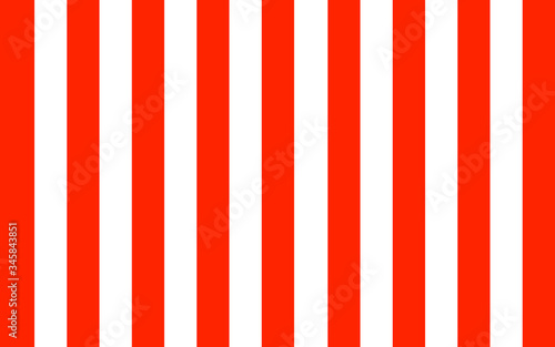 Fotografie, Obraz red and white stripe wallpaper background