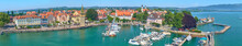 Panorama Of Lindau Harbor On L...