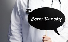 Bone Density. Doctor In Smock ...