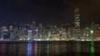 hong kong city urban panorama time lapse china