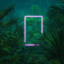 Neon Tropical Portal / 3D Illu...