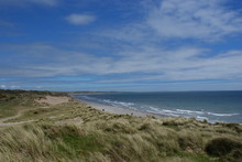 Panoramic View Of Windswept Be...