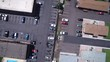 WESTMINSTER COLORADO-2017: An Aerial View Of A Full Parking Lot