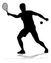 A Tennis Player Man Male Sport...