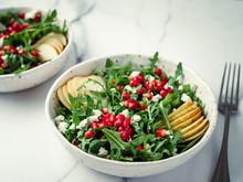 Fresh Salad With Arugula, Pear...