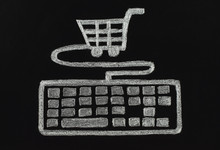 Keyboard Connected To Cart