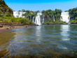 Iguazú Falls is the largest waterfall in the world