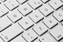 Detail Of Keyboard Keys Of Personal Computer